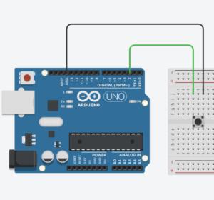 arduino digital PULLUP схема