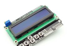 Arduino шилд LCD keypad shield