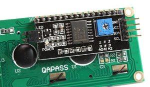 LCD i2c дисплей экран и переходник ардуино