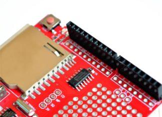Подключение SD и microSD карт к ардуино