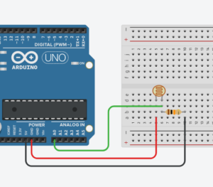 Фоторезистор датчик освещенности arduino
