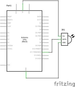 Инфракрасный IR датчик ардуино схема подключение