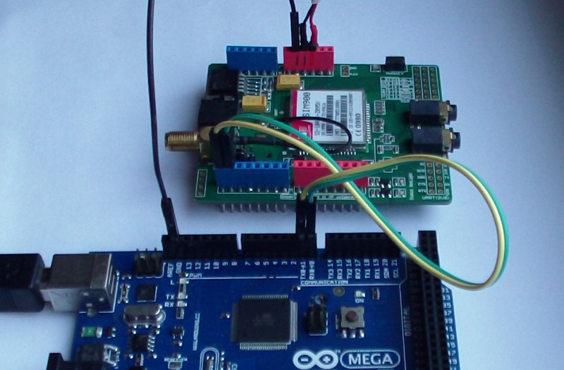 GSM и GPRS модуль для Arduino