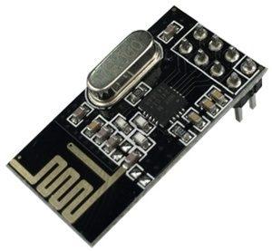 Беспроводной модуль NRF2401 в Arduino