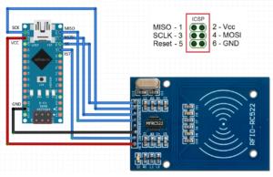 Подключение RFID к Arduino с помощью RC522 и RDM3600