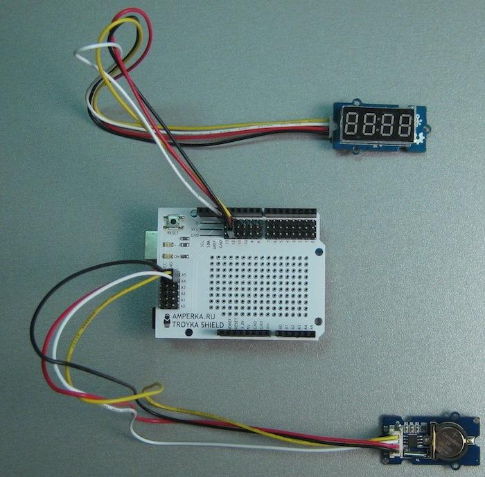 Arduino будильник