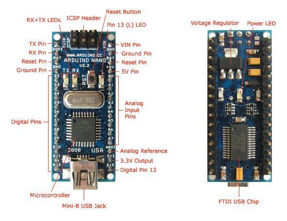 Плата Arduino Nano