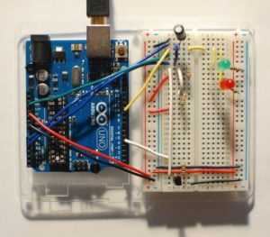 Arduino схема светодиоды