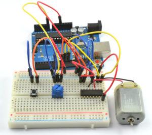 Arduino схема мотор