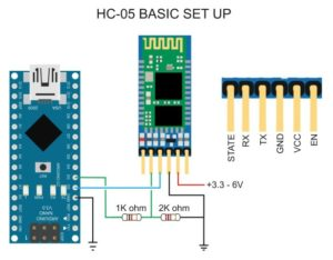 arduino nano bluetooth