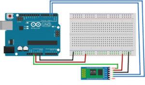 arduino bluetooth подключение