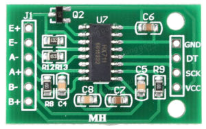 Тензодатчик микросхема НХ711