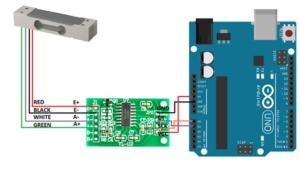 Тензодатчики и весы на Arduino и НХ711