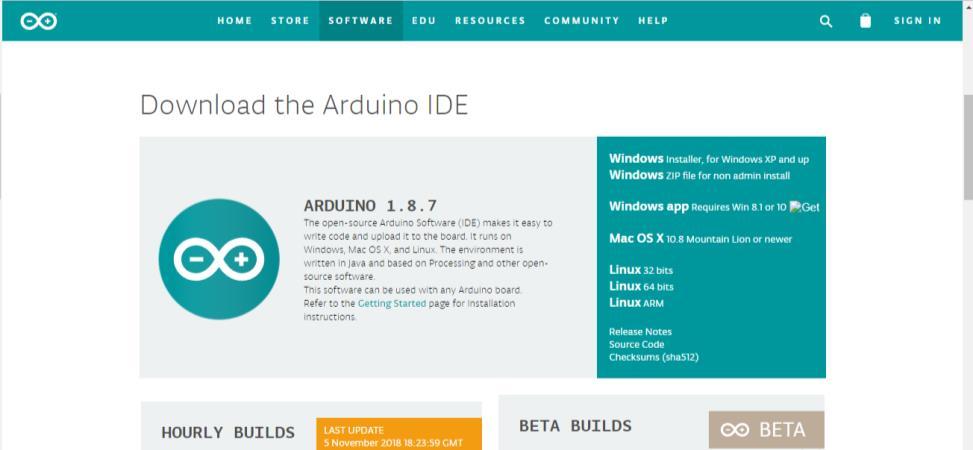 Скачать Arduino IDE