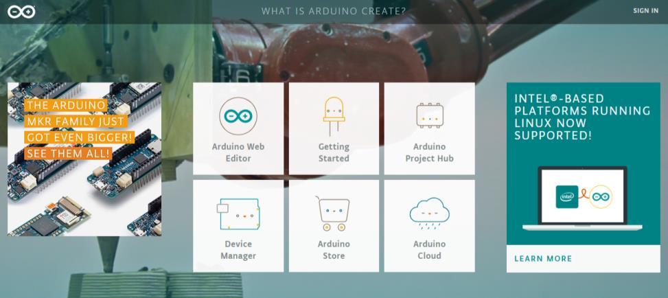 Arduino IDE Online