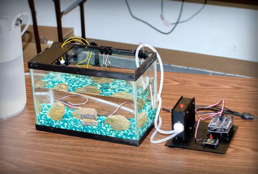 Автоматизированная система для аквариума
