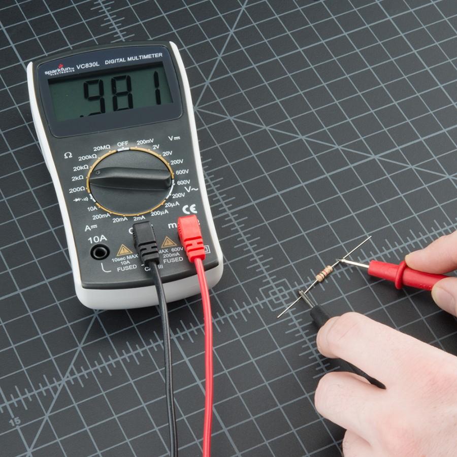 Как пользоваться мультиметром для измерения сопротивления