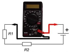 Принцип действия мультиметра
