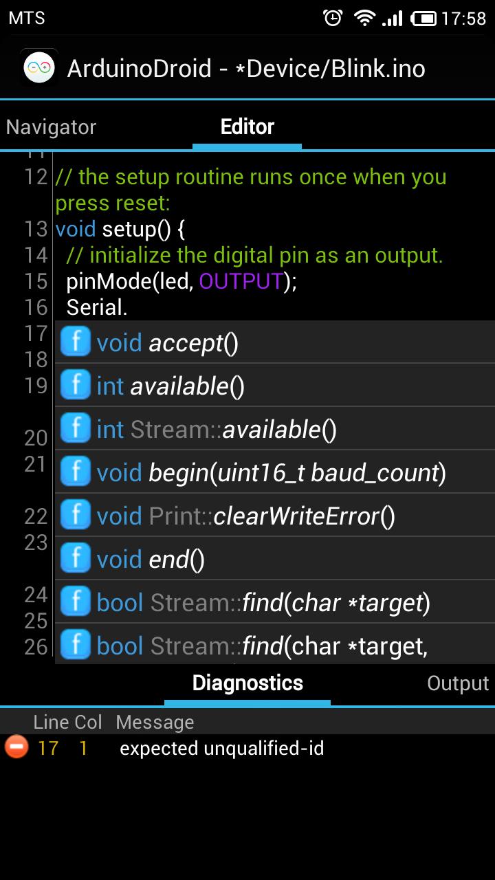 ArduinoDroid