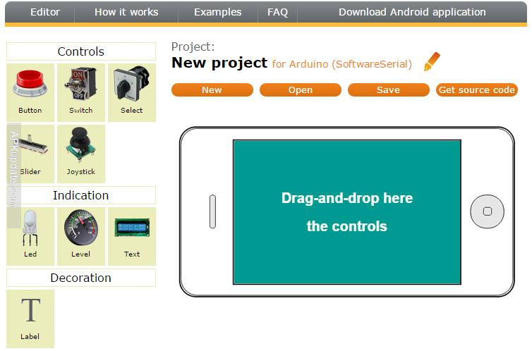 RemoteXY Arduino control