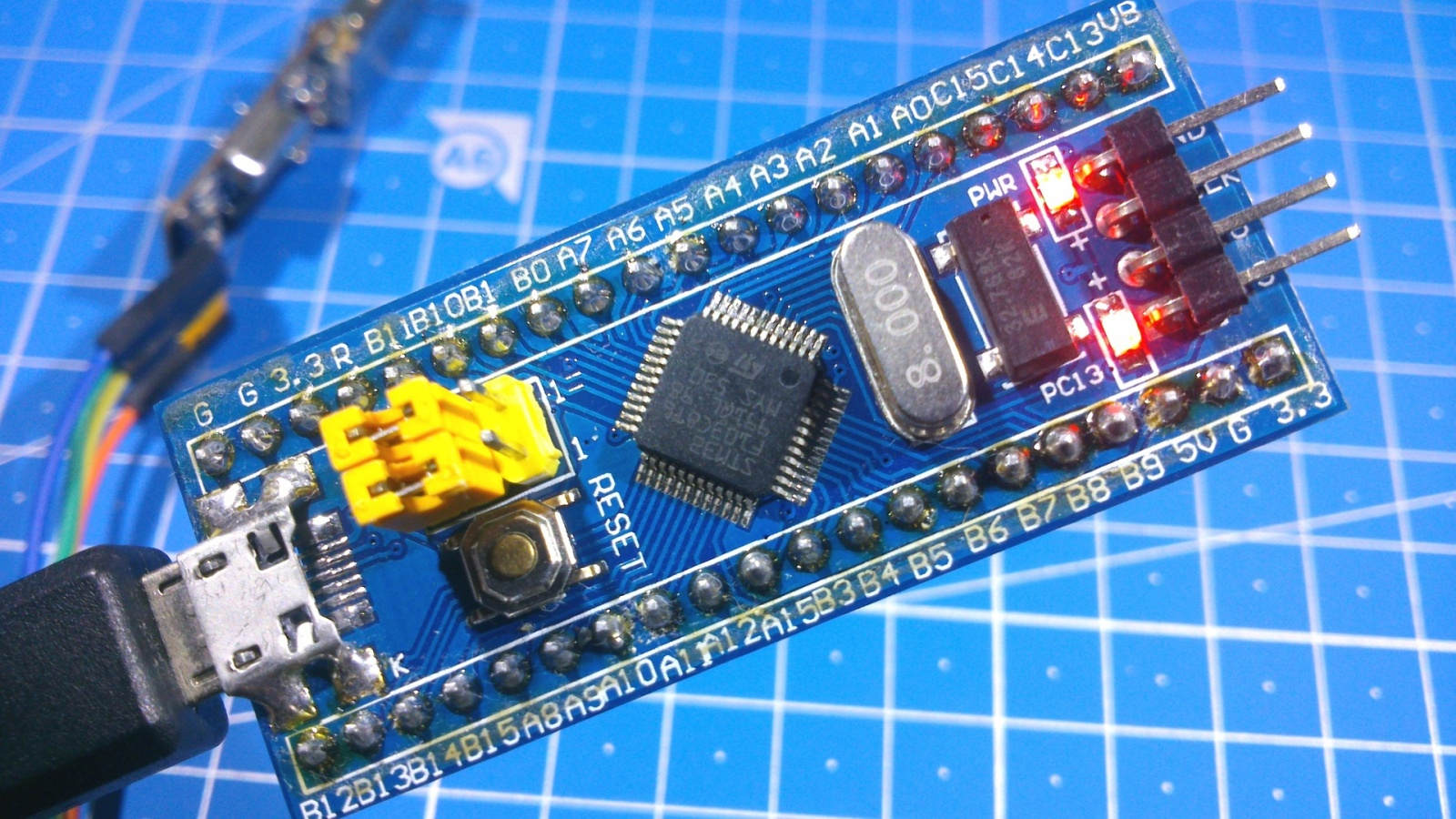 Сравнение STM32 с Arduino