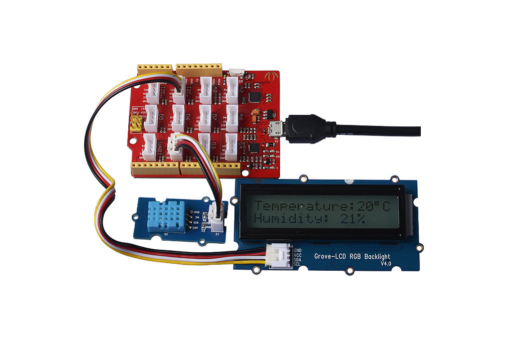DHT11 LCD 1602