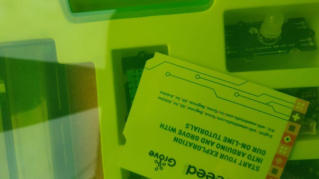 Конструктор Seeed Grove Arduino Beginner Kit для начинающих