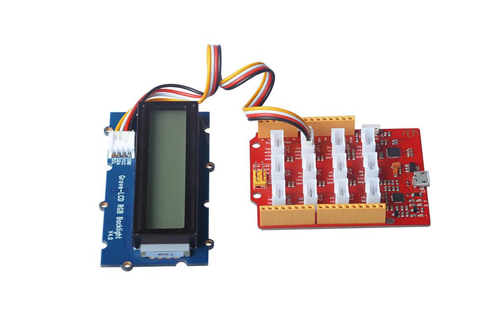 Grove LCD Seeeduino