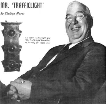 Создатель первого светофора William L Potts