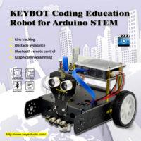 Программируемый робот дешевле 3000 рублей с инструкцией и видео! Keyestudio KEYBOT Programmable Education Robot Car Kit