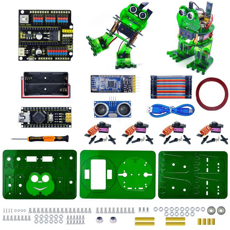 Новинка! Робот-лягушка на Arduino от Keyestudio с управлением на Android и iOS