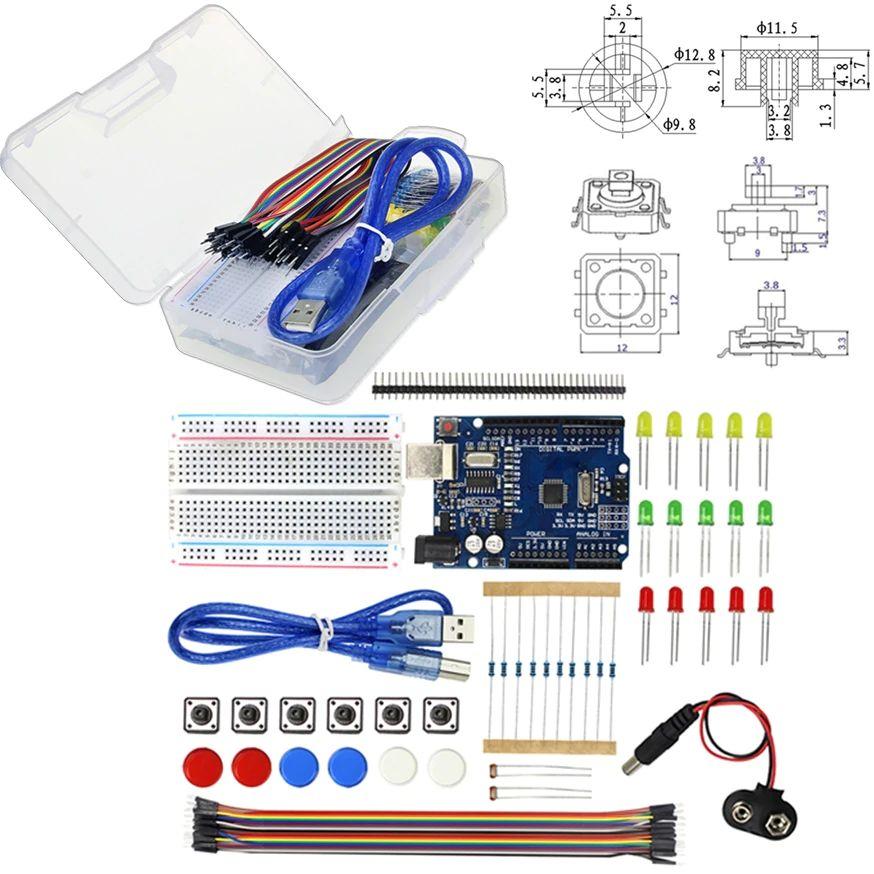 Набор с платой Arduino Uno и всем необходимым за 350 руб!